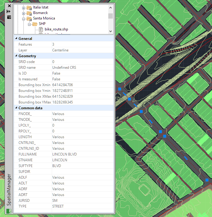 Import shapefile into ZWCAD - Extended Entitiy Data (EED/XDATA) in the Data viewer palette